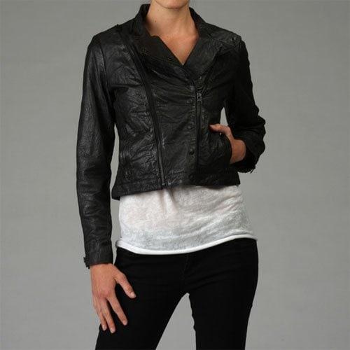 Levi's Nappa Leather Zip Motorcycle Jacket