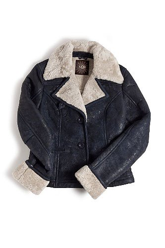UGG Alpine Shearling and Leather Jacket