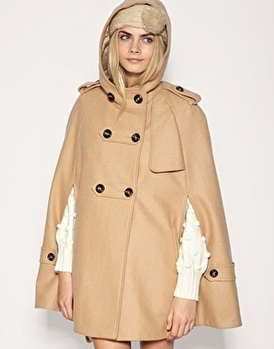 ASOS Hooded Military Cape