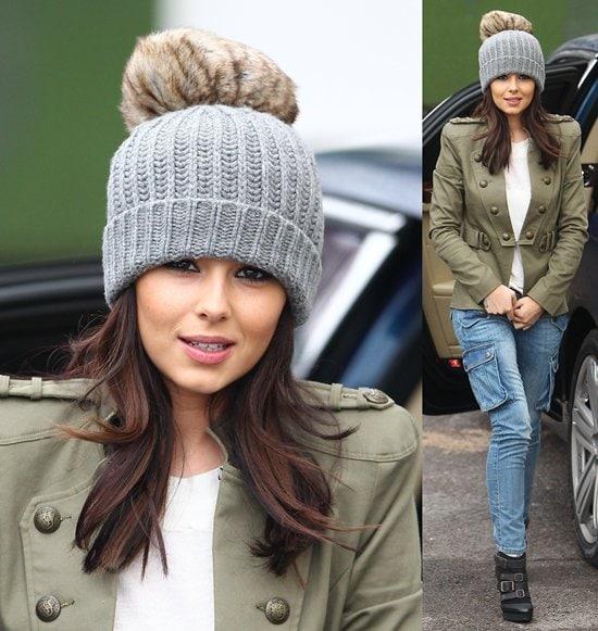 Cheryl Cole rocks the Soldier on Jacket from Stylestalker