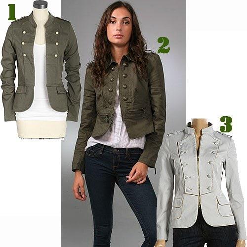 Women's military jackets