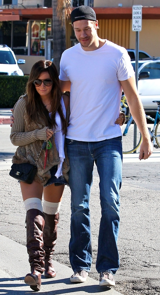 Ashley Tisdale and her director boyfriend Scott Speer