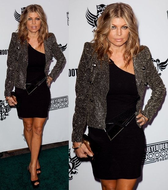 Fergie at The Black Eyed Peas & Friends Peapod Benefit Concert