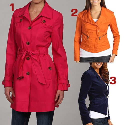 Fergie-Style Colored Jackets