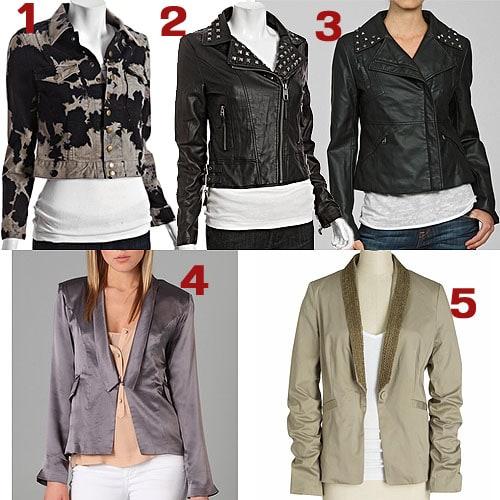 Fergie-Style Embellished Jackets