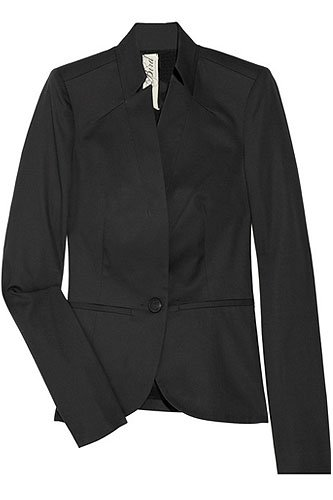 Bird by Juicy Couture Stretch Cotton Blazer