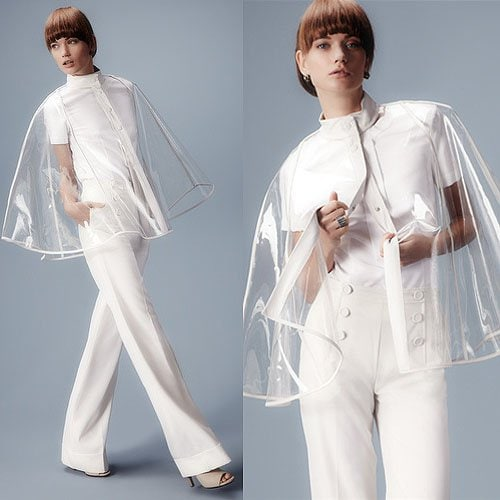Clear raincoat by Raoul Resort