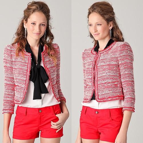 Alice + Olivia Sydney Box Jacket