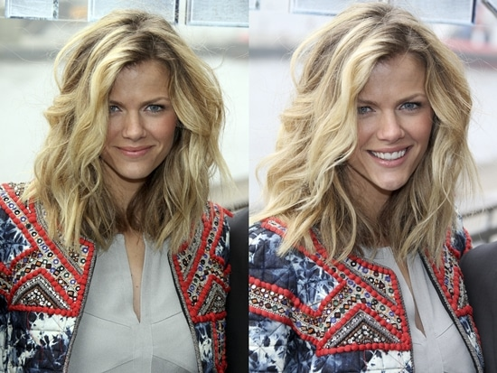 Brooklyn Decker's just-got-out-of-bed wavy hair