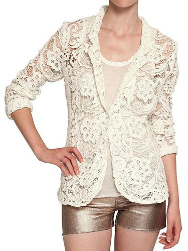 American Retro Lace Jacket