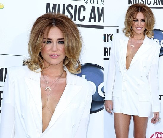 Miley Cyrus attending the 2012 Billboard Music Awards