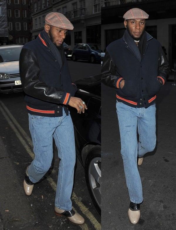 Mos Def Varsity Fashion