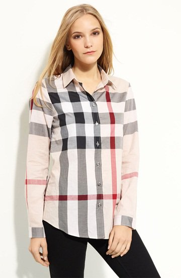 Burberry Brit Check Woven Shirt