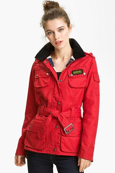 "Barbour ""Union Jack International"" Waxed Cotton Jacket"