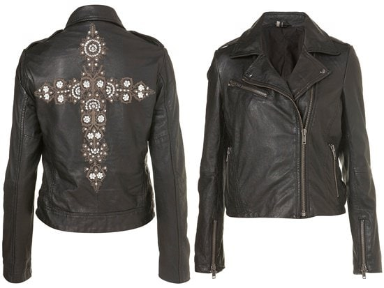 Cross Embroidered Jacket