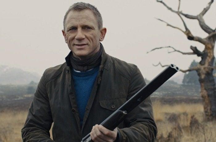 James Bond'sweather-beaten waterproof jacket byBarbour
