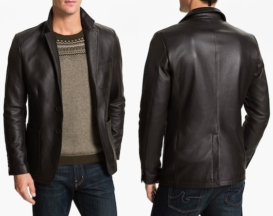 Alex & Co. Leather Blazer in Tmoro