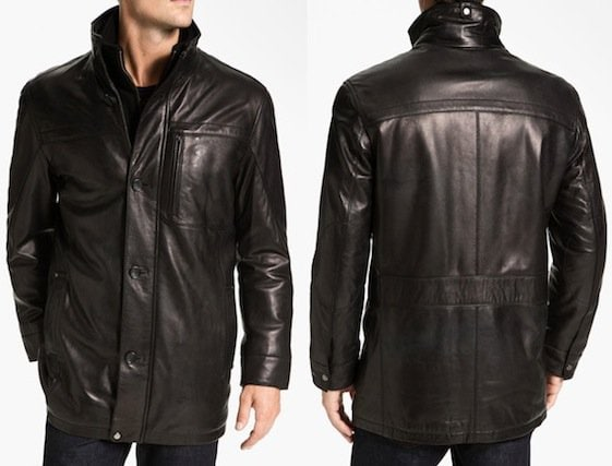 Marc New York by Andrew Marc 'Liam' Leather Jacket in Black