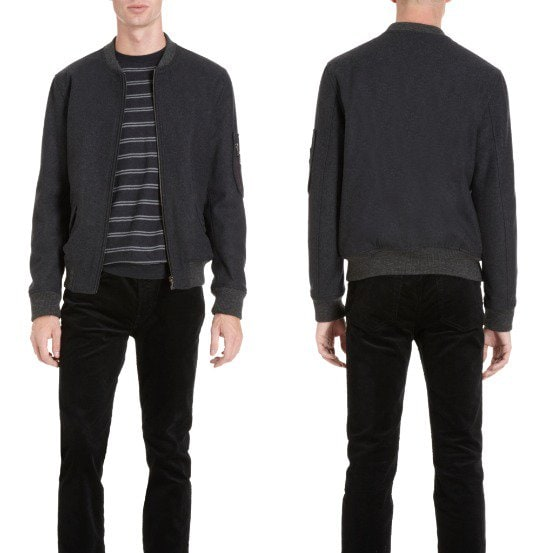 PS Paul Smith Felted Bomber