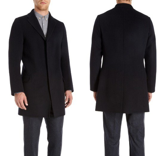 Paul Smith Covered Placket Peacoat