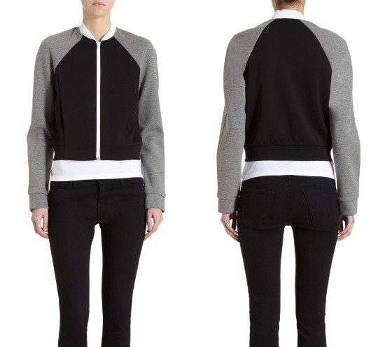 T By Alexander Wang Raglan Jacket Sweater