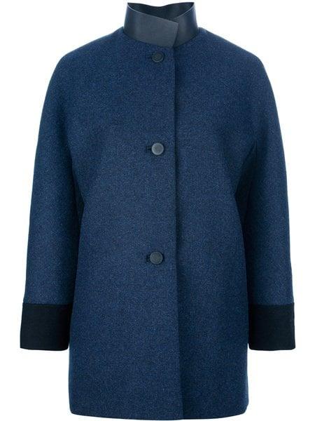 Single Breasted Coat by Balenciaga