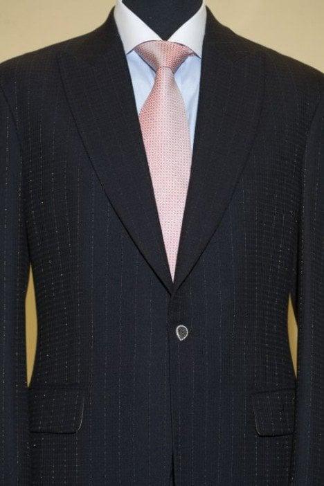 Suit jacket by Alexander Amosu