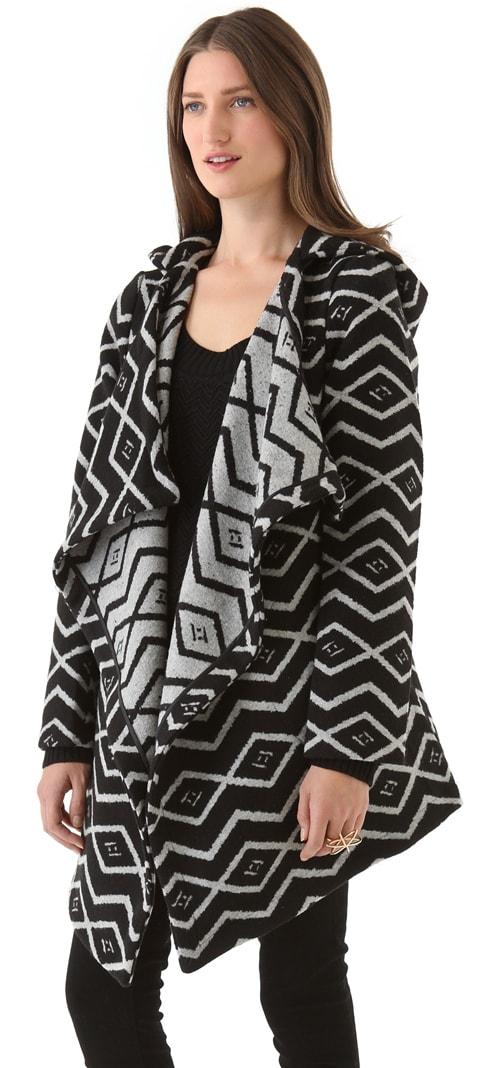 BB Dakota Alder Azra Pattern Coat
