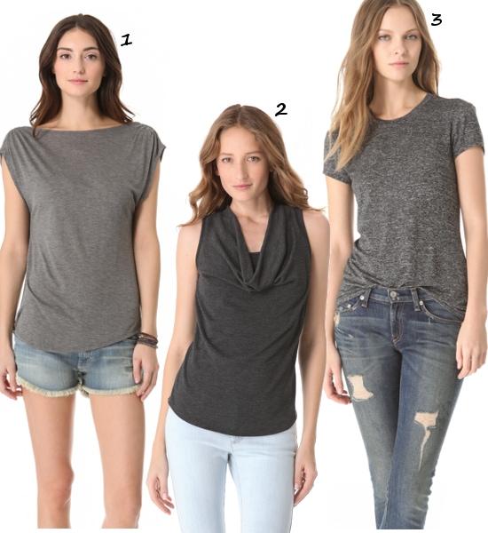 Gray-Shirts-basic-tees