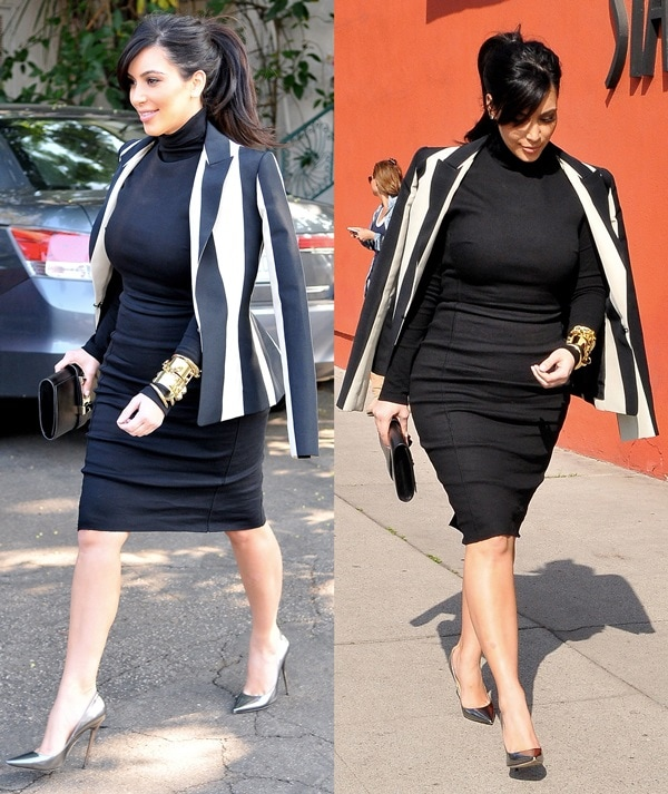Kim Kardashian seen out and about