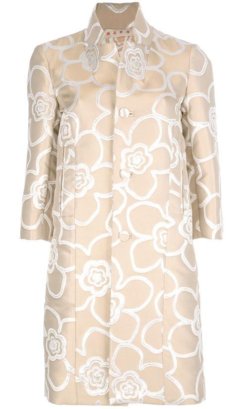 Marni Embroidered Overcoat