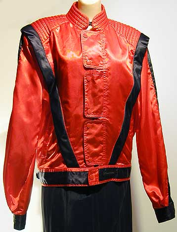 "The iconic jacket was first worn by Michael Jackson in his ""Thriller"" music video in 1983"
