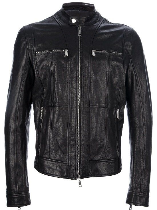 DSquared2-Leather-Jacket