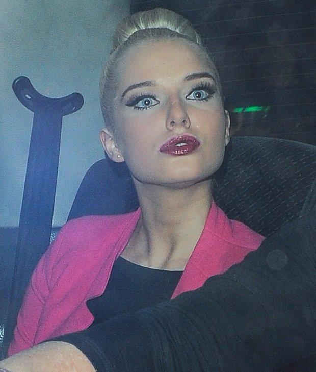 Helen Flanagan'seye-popping pink blazer