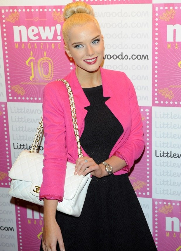Helen Flanagan attends New Magazine Celebrates 10 years in print