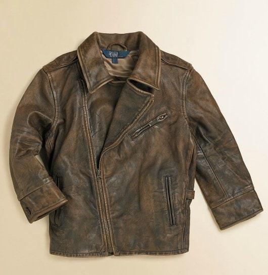 Ralph Lauren Toddler's Leather Jacket