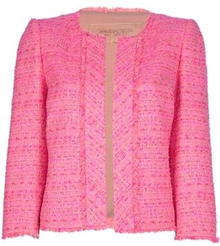 Giambattista Valli Open Melange Knit Sweater