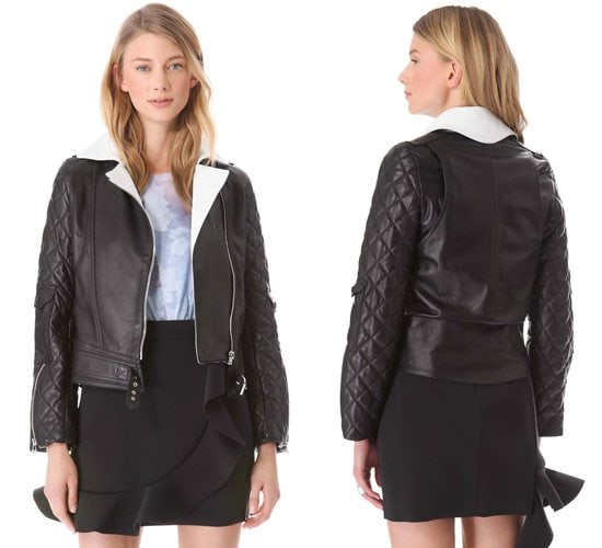 JW Anderson Leather Biker Jacket