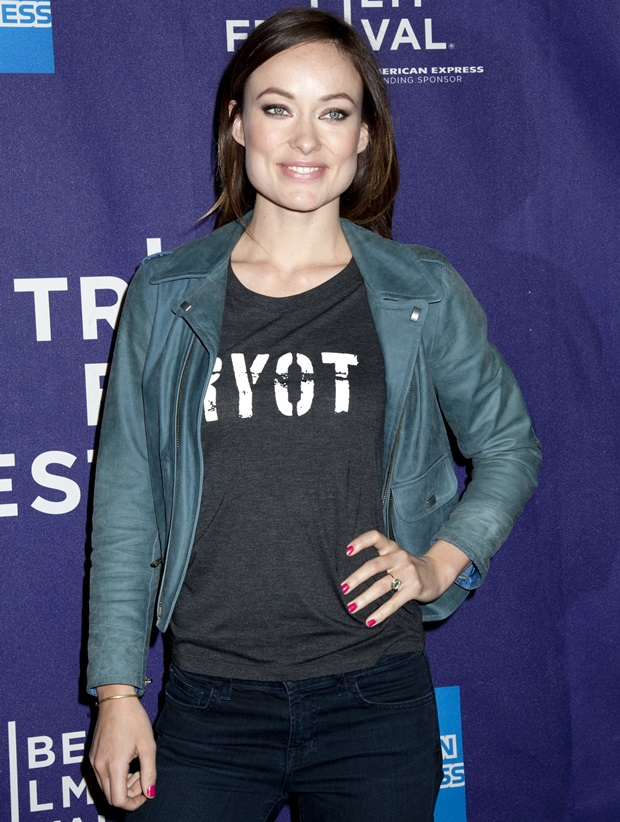 Olivia Wilde at the 2013 Tribeca Film Festival Shorts Program in New York City on April 22, 2013