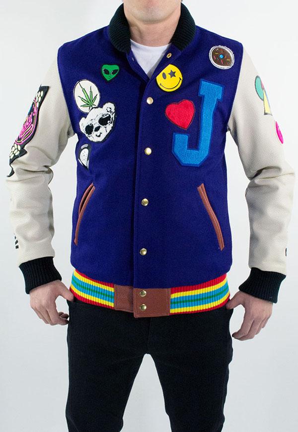 Joyrich x Dee & Ricky Fall 2012 Plush Puff Varsity Jacket