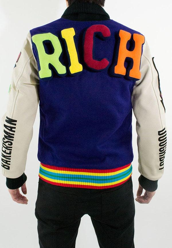 Joyrich x Dee & Ricky Fall 2012 Plush Puff Varsity Jacket1