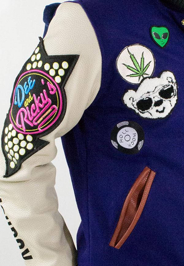 Joyrich x Dee & Ricky Fall 2012 Plush Puff Varsity Jacket2