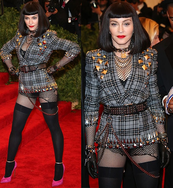 "Madonna attends the Costume Institute Gala for the ""PUNK: Chaos to Couture"" exhibition"