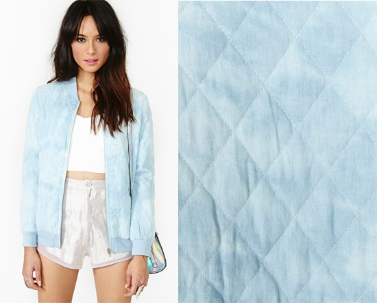 Nasty Gal Cloud Control Bomber Jacket