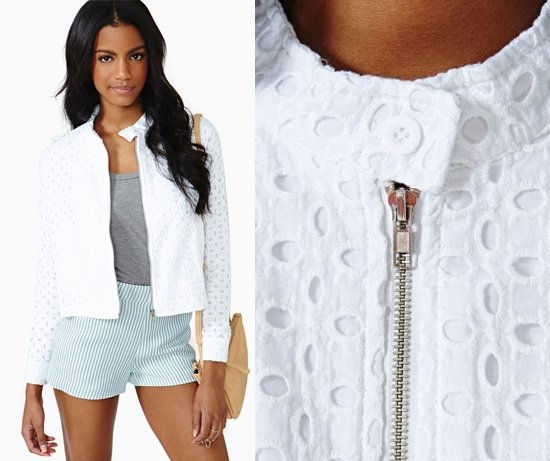 Nasty Gal Forever Young Lace Jacket