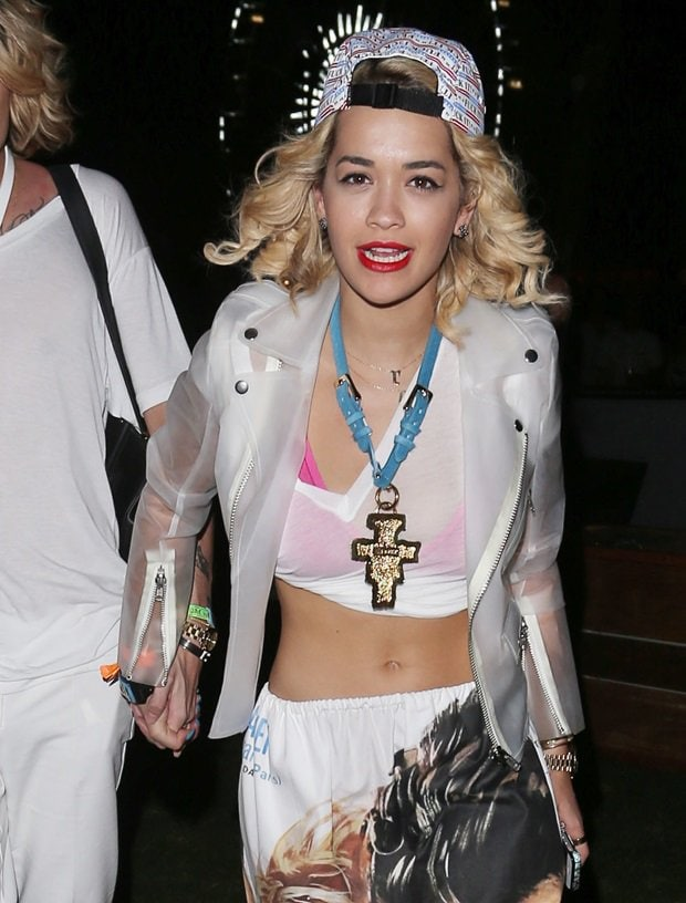 Rita Ora at the 2013 Coachella Valley Music and Arts Festival, Week 1, Day 2 in Indio, California on April 13, 2013