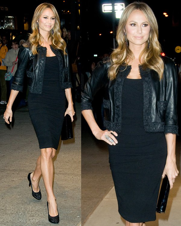 Stacy Keibler at Dolce & Gabbana Fifth Avenue Flagship Store Opening on May 4, 2013