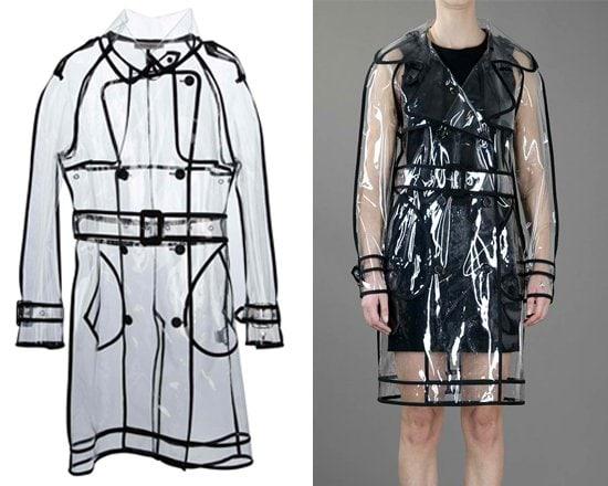 Wanda Nylon Transparent Trench Coat