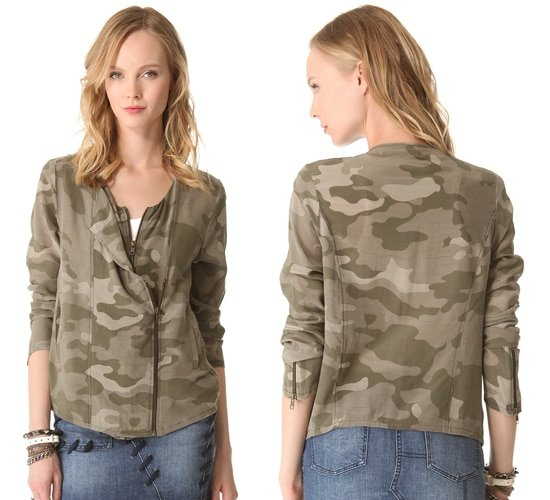 April May Cami Camouflage Jacket