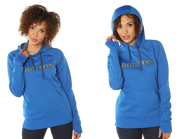 Burton The Heron Hoody in Cobalt Blue
